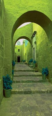 zielona-waska-uliczka-i-kamienne-schody