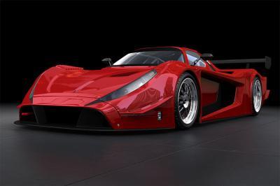 czerwony-sportowy-samochod
