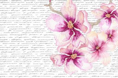 malowane-kwiaty-i-list