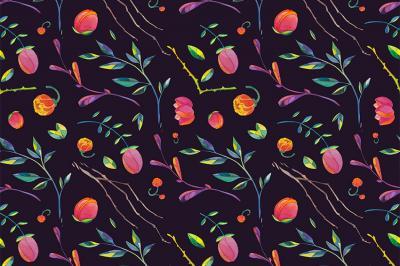 drobne-kwiatuszki-na-fioletowym-tle