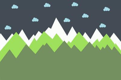 zielone-gory-i-niebieskie-chmurki