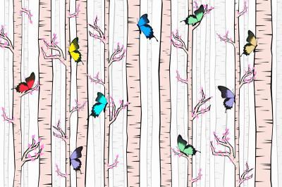 rozowe-drzewa-i-motylki