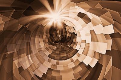 przestrzenna-abstrakcja-w-kolorze-brazowym