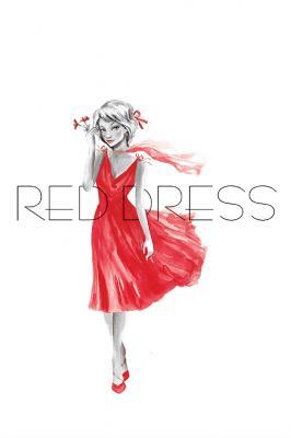 kobieta-w-czerwonej-sukience-i-napis