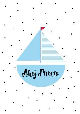 niebieski-statek-i-napis-ahoj-piracie