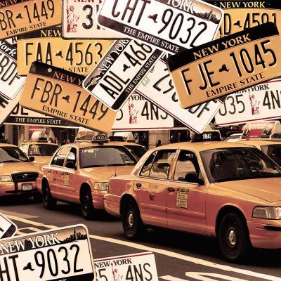 tablice-rejestracyjne-i-nowojorskie-taksowki