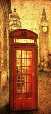 londynska-budka-i-big-ben-w-stylu-vintage