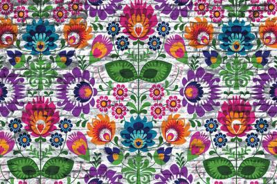 folkowe-kwiaty-na-ceglach