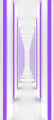 bialo-fioletowy-korytarz