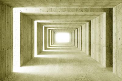 betonowy-tunel-w-kolorze-zielonym