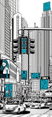 ilustracja-ulicy-w-nowym-jorku