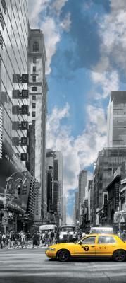 ulica-w-nowym-jorku-i-taksowki