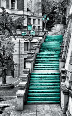 zielone-schody