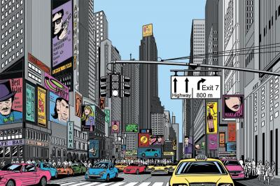 miasto-z-komiksu-w-kolorze