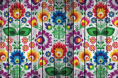 folkowe-kwiaty-na-deskach
