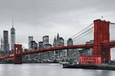 czerwony-most-brooklinski-i-szare-miasto