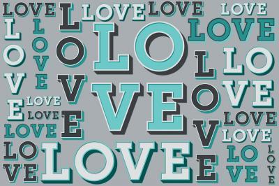 turkusowy-napis-love