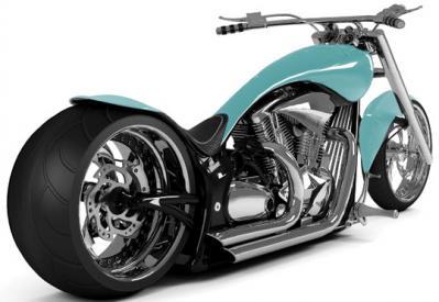 turkusowy-motocykl