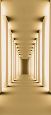 kremowy-korytarz
