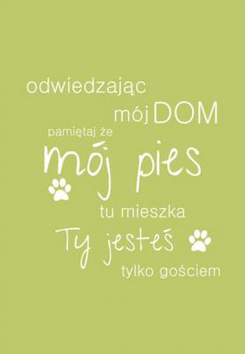 odwiedzajac-moj-dom-pamietaj-ze-moj-pies-zielony
