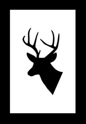 glowa-jelenia-czarno-bialy