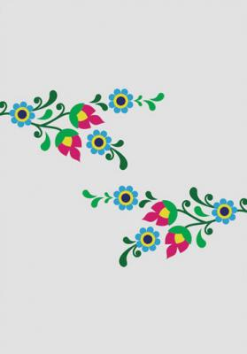 grafika-ludowe-kwiatki