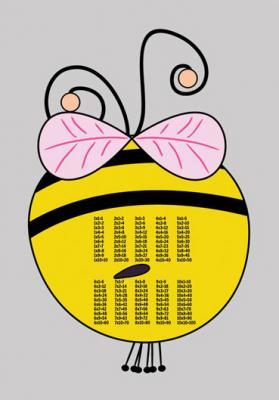 pszczolka-z-tabliczka-mnozenia