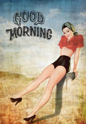 napis-good-morning-pin-up