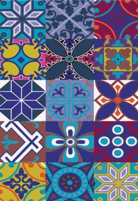 marokanskie-wzory-fioletowe