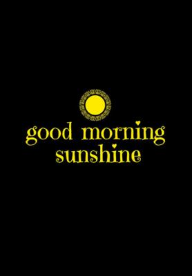 good-morning-sunshine