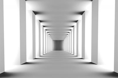 korytarz-z-bialymi-filarami