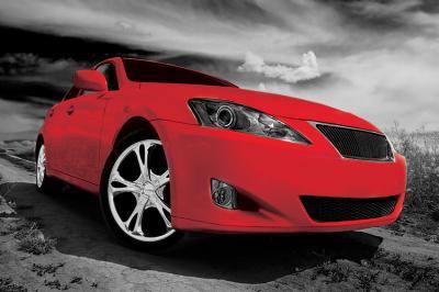czerwone-sportowe-auto