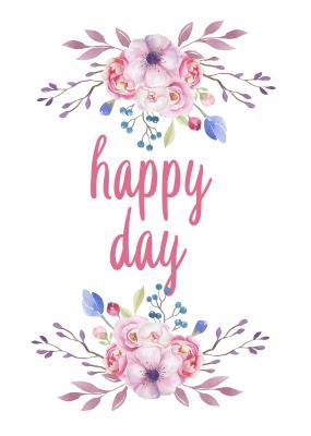 kwiaty-i-napis-happy-day