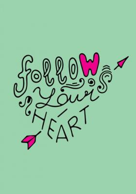 napis-follow-your-heart